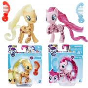 Pack Mini My Little Pony Pinkie Pie e Applejack Glitter E2557 / E2560 - Hasbro