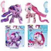 Pack Mini My Little Pony Pinkie Pie e Twilight Sparkle Glitter E2557 / E2559 - Hasbro