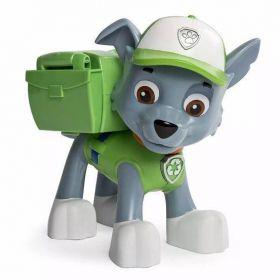 Patrulha Canina Rocky - Figura de Ação Jumbo - Sunny