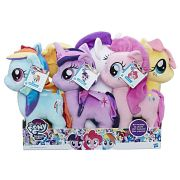 Pelúcia Grande 30 Cm My Little Pony - Pack Com 6 Personagens B9817 - Hasbro