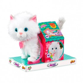 Pelúcia Interativa Adotados Gato Mimi Fur Balls Pets F00196 - Fun