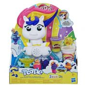 Play Doh Tottie Unicórnio Fábrica de Sorvetes Play Set com massinha de modelar E5376 - Hasbro