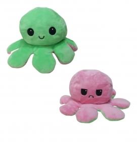 Polvo do Humor - Reversível Feliz e Triste Rosa e Verde R3102