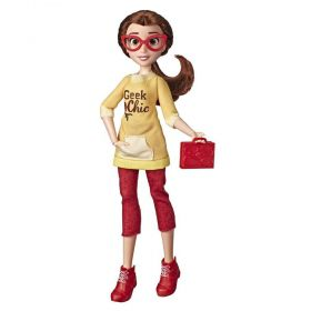 Boneca Disney Princesas Comfy Bela E8401 - Hasbro