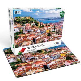 Quebra Cabeça 1000 Peças Portugal - Puzzle Pais & Filhos