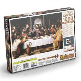 Quebra Cabeça 1000 Peças Santa Ceia - Puzzle Grow