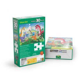 Quebra Cabeça Infantil 30 Peças Dino Kid -Puzzle Grow