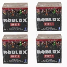 Roblox - Pack 04 Mini Figuras Surpresas  Serie 8 - Sunny