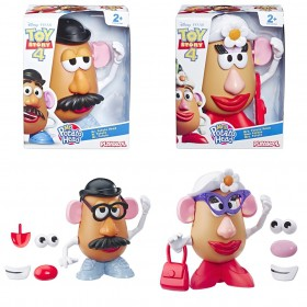 Sr E Sra Cabeça De Batata Mr. Potato Head Toy Story 4 E3069 - Hasbro