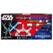Sabre de Luz Eletrônico Bladebuilders Mestre Jedi B2949 - Hasbro