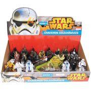 Star Wars Chaveiro Colecionável Display com 24 unidades  Multikids