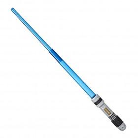 Star Wars Disney Sabre De Luz Azul Eletrônico - Academia do Sabre E4474 E3120 - Hasbro