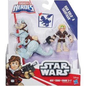 Boneco Star Wars Han Solo e Tauntaun B2034 - Hasbro
