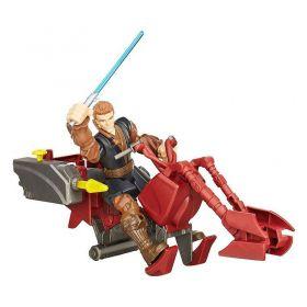 Star Wars Hero Mashers - Jedi Speeder E Anakin Skywalker