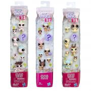 Super Pack Littlest Pet Shop com 24 Personagens  Amigos Doces - E1059 / E1063 / E1066 - Hasbro E0397