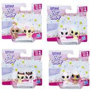 Super Pack Littlest Pet Shop com 8 Personagens E0399 - Hasbro