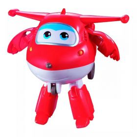 Super Wings Jett Grava e Fala 18 cm - Fun