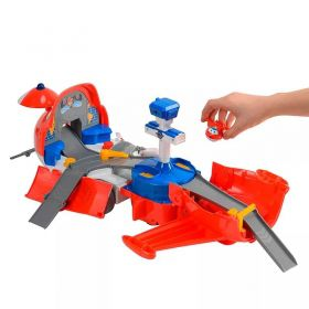 Super Wings Jett Torre de Comando Transformável - Fun