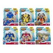 Transformers Rescue Bots Academy - Pack com 6 Personagens E5366 - Hasbro