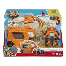 Transformers Rescue Bots Comando Central do Wedge  E7180 E6431 - Hasbro