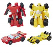 Transformers Rescue Bots - Pack com 2 Personagens B5582 - Hasbro