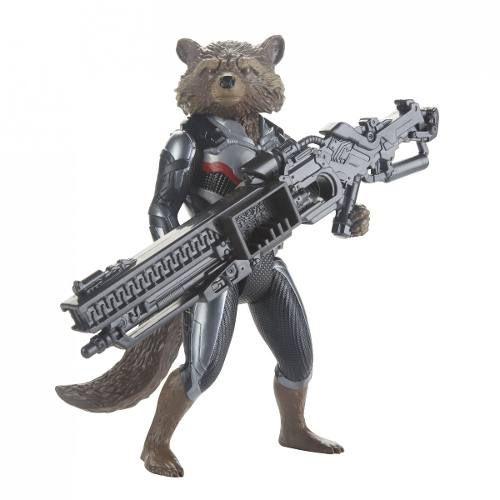 Boneco Rocket Raccoon 17 Cm Avengers Ultimato E3917  / E3308  - Hasbro