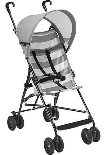 Carrinho Guarda Chuva Para Bebê de 06 Meses a 15 Quilos Cinza BB513 Navy - Multikids