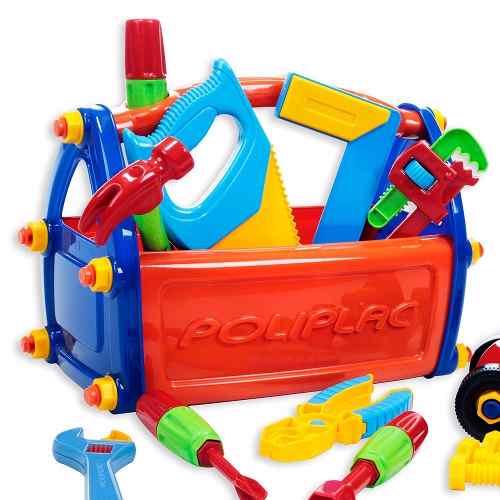 Caixa de Ferramentas infantil com Acessórios  - Poliplac