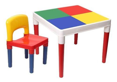 Mesinha Didática Infantil Multi com 1 Cadeira  - Bell Toy