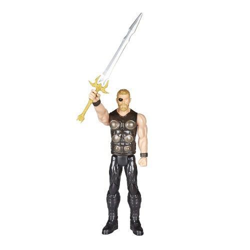 Boneco Thor Guerra Infinita Avengers Power Fx 30cm Hasbro