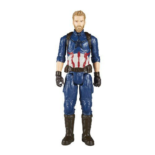 Boneco Capitão America Guerra Infinita Avengers  E1421 - Hasbro