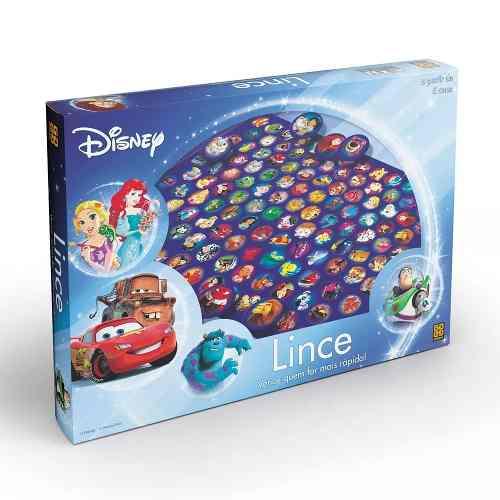Jogo Lince Disney 126 Cartelas Ilustradas Grow