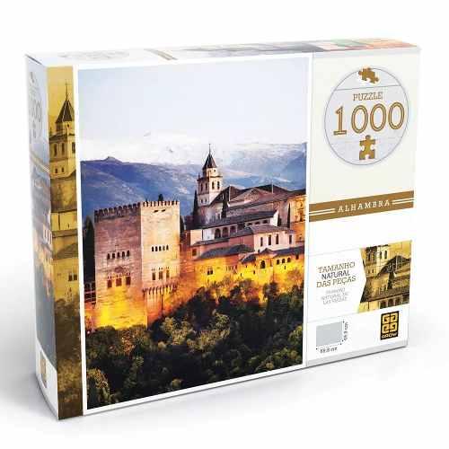 Puzzle 1000 Peças Alhambra Grow - Quebra-cabeça Grow
