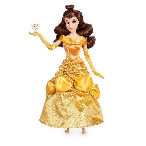 Disney Store Kit Boneca Bela E A Fera Original Disney Store - Pikoka ... 2370768fb33
