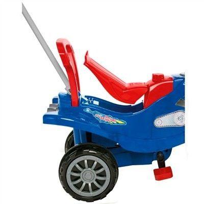 Cross Turbo Calesita Azul - Carrinho de Passeio Infantil Com Alça de Proteção