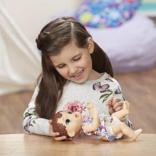 Boneca Baby Alive Hora Do Xixi Morena Laçamento 2018 Hasbro