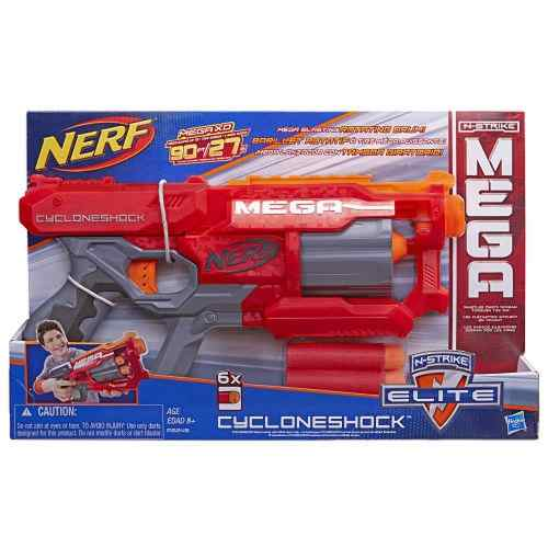 Lançador Nerf N-strike Mega Cyclone A9353 - Hasbro