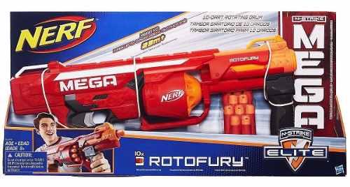 Lançador Nerf N-strike Mega Rotofury B1269 - Hasbro