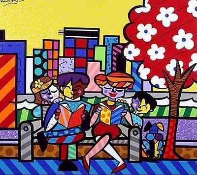 Puzzle Grow 6000 Peças Romero Britto Family - Quebra Cabeça