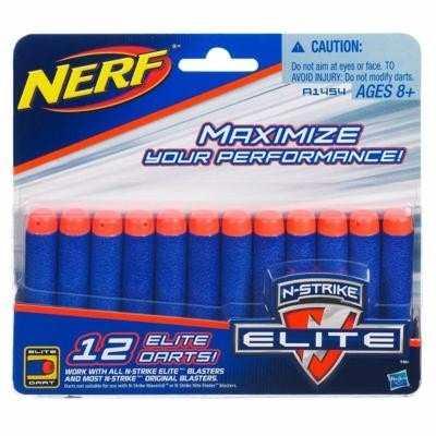 Refil Lançador Nerf N-strike 12 Unidades A4368 - Hasbro