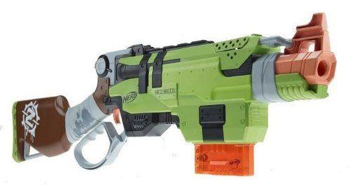 Lançador Nerf Slingfire Zombie  A8773 - Hasbro