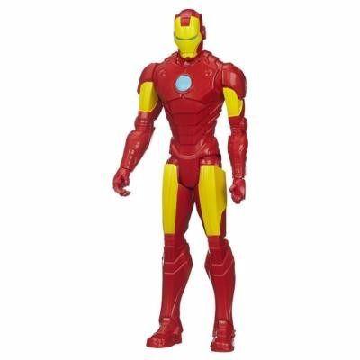 Boneco Homem De Ferro Avengers Titan Hero Hasbro Iron Man