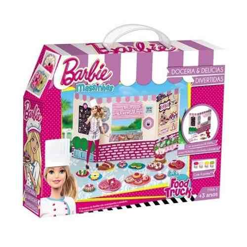 Barbie Massinha De Modelar Doceria E Delicias - Fun 7968-3