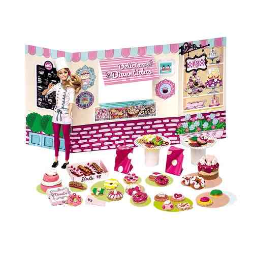 Barbie Massinha De Modelar Doceria E Delicias Food Truck