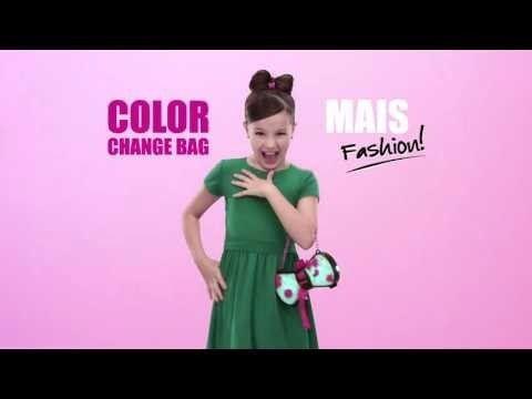 B You Color Change Bag Bolsa Muda De Cor Bolsa Infantil