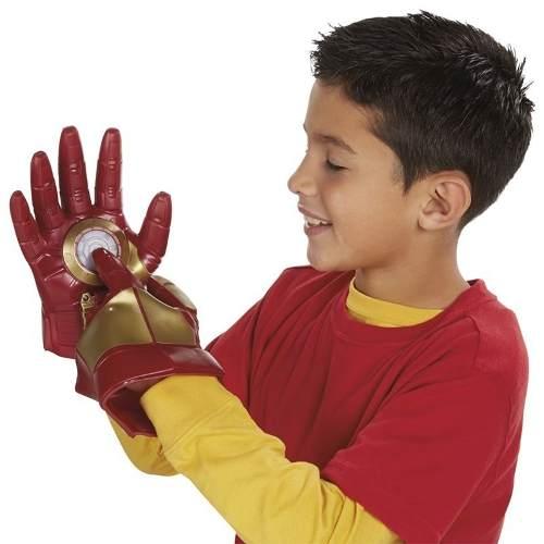 Luva Homem De Ferro Com Som E Luz Hasbro