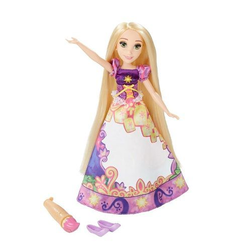 Princesas Disney Vestido Mágico - Rapunzel - Hasbro