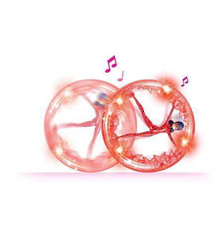 Ladybug Miraculous Roda Giratoria Com Musicas E Luz Sunny