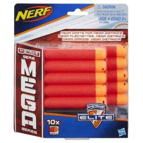 Refil Lançador Nerf Mega Com 10 Unidades A4368 - Hasbro