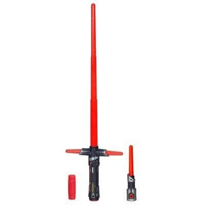 Sabre De Luz Eletrônico Star Wars Vii Kylo Ren Hasbro B2948
